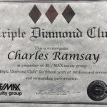 Triple Diamond Club - Charles Ramsay